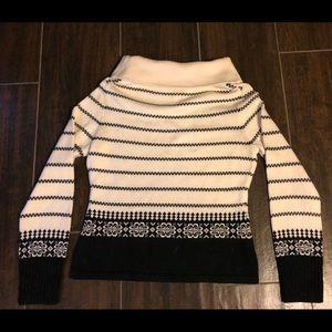 Ann Taylor Loft Cowl Sweater - Medium